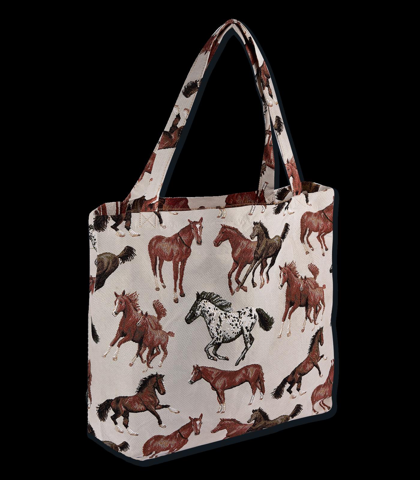 026169e3b8300 Nákupná taška - kone | Jazdecké potreby El Thoro